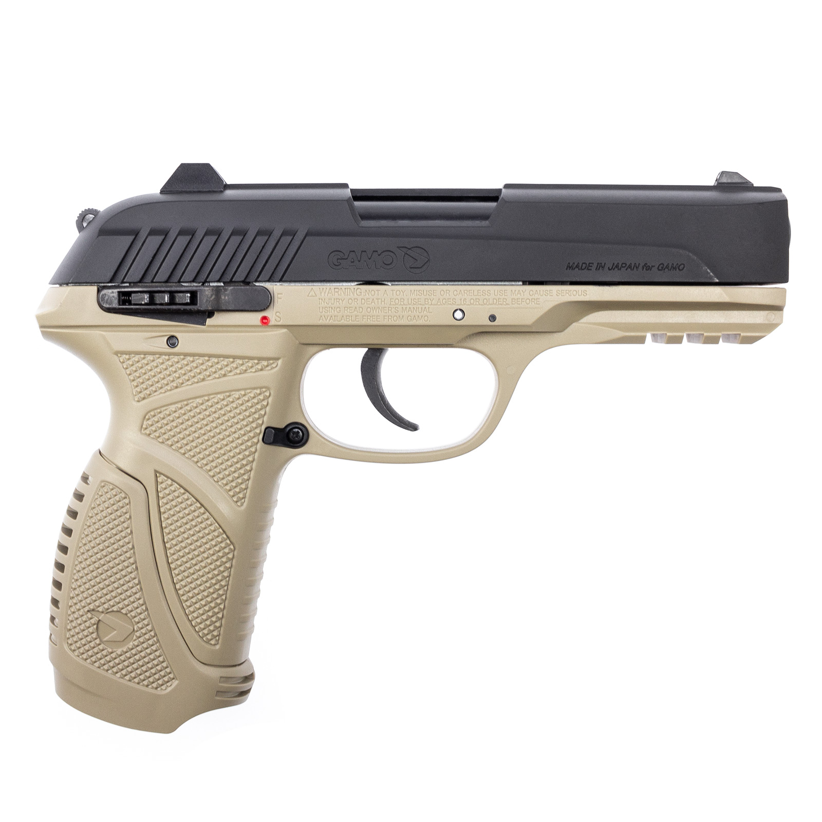 Gamo PT-85 CO2-Pistole Kal. 4,5mm Diabolo, Desert Version