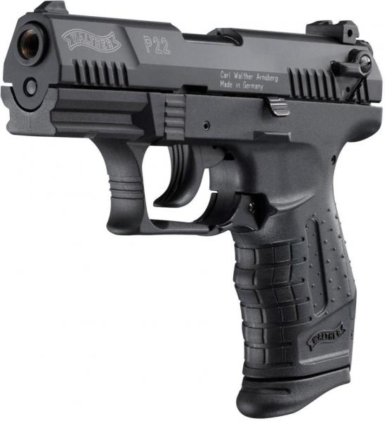 "Walther P22 9mm P.A.K. ""PTB"" [P18]"