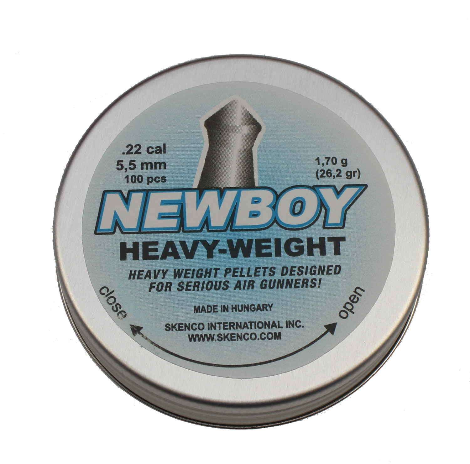 Skenco NewBoy Heavy Weight Diabolos spitz 5,5mm 100 Stk